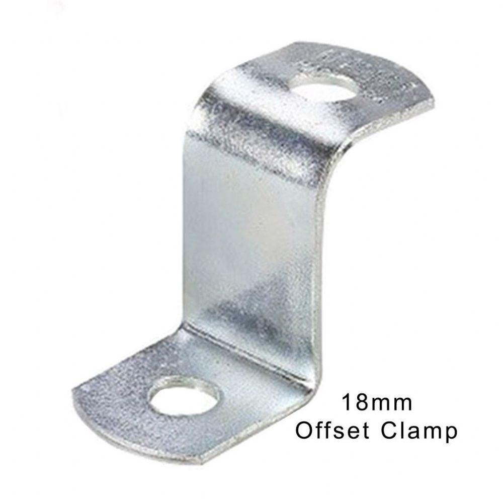 Canvas Offset Clamp 18mm (Two Hole)